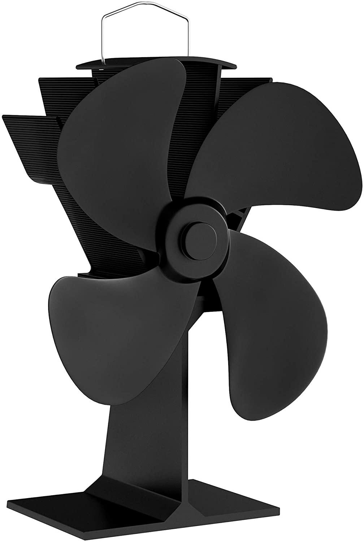 best heat powered wood stove fan