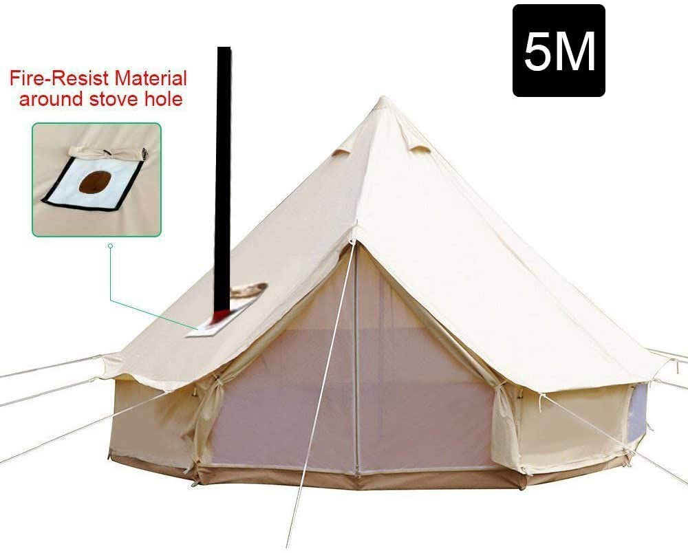 winter tents with stove jacks
